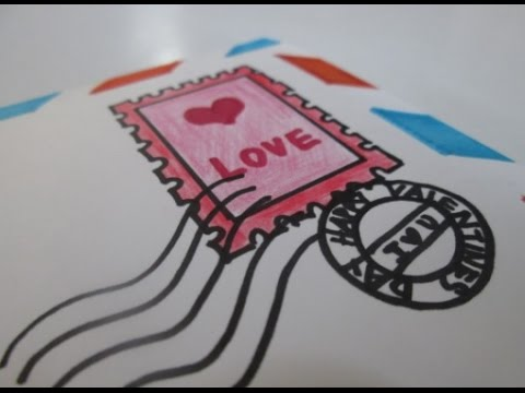 DIY : #60 Love Letter Card (Valentine's Day) ♥
