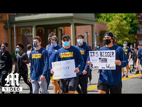 Student-athlete Black Lives Matter protest - August 30, 2020