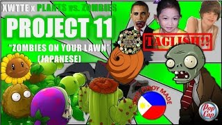 Zombies on Your Lawn Japanese (Plants vs. Zombies Taglish)