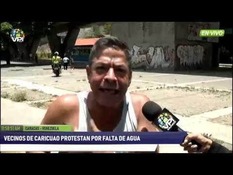 Venezuela - Vecinos de Caricuao protestaron por falta de agua  - VPItv
