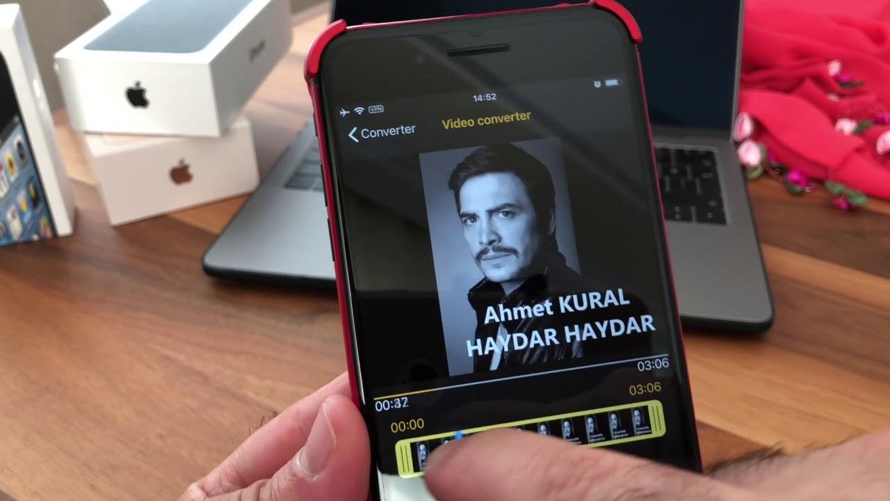 iphoneda mp4 izleme