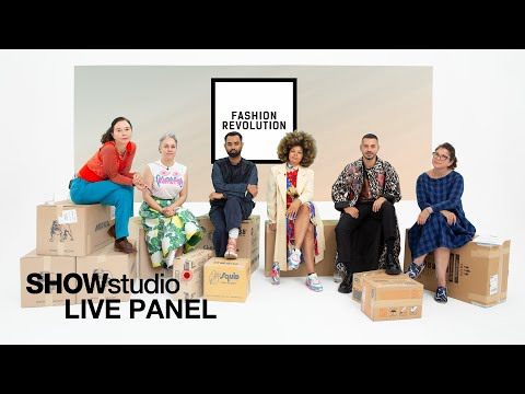 Should we cancel fashion week? Fashion Revolution Live Panel Discussion