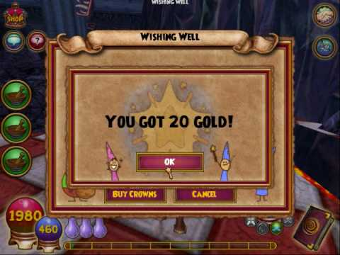How to Use wishing wells & mounts in the Wizard101 test realm « Web