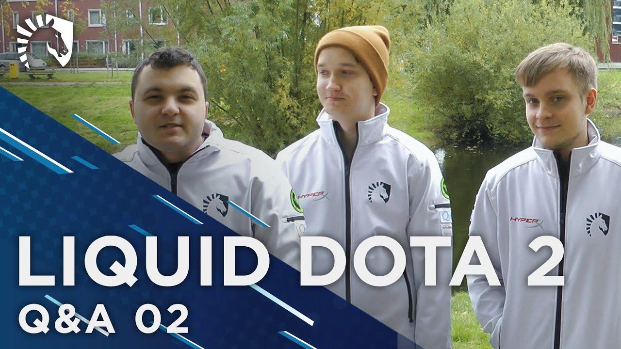 liquid dota 2 q a ep2 featuring mc matumba jerax youtube