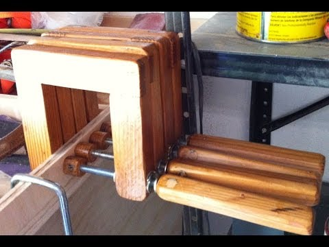 Homemade Wooden C Clamps – you can never have enough