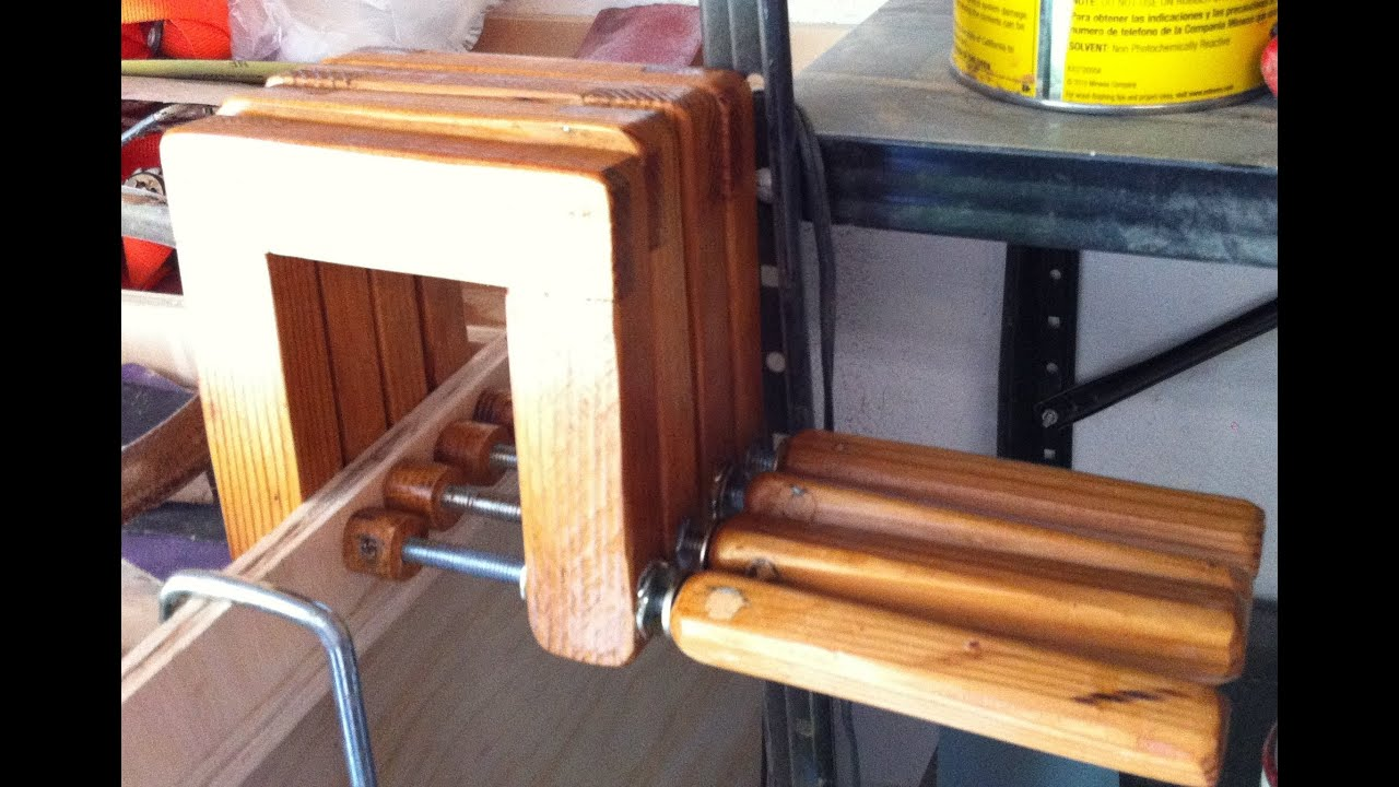 Homemade Wooden C Clamps You Can Never Have Enough Youtube
