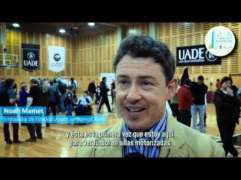 Buenos Aires Clinic 2015 -  Powerchair Football Argentina