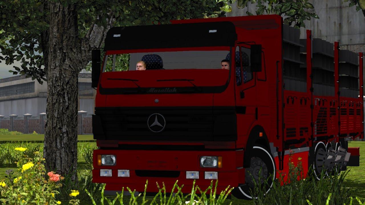 Mercedes Benz 2521 Kamyon Kaptanı Şeref Kutlu İle Sohbet ve İnceleme