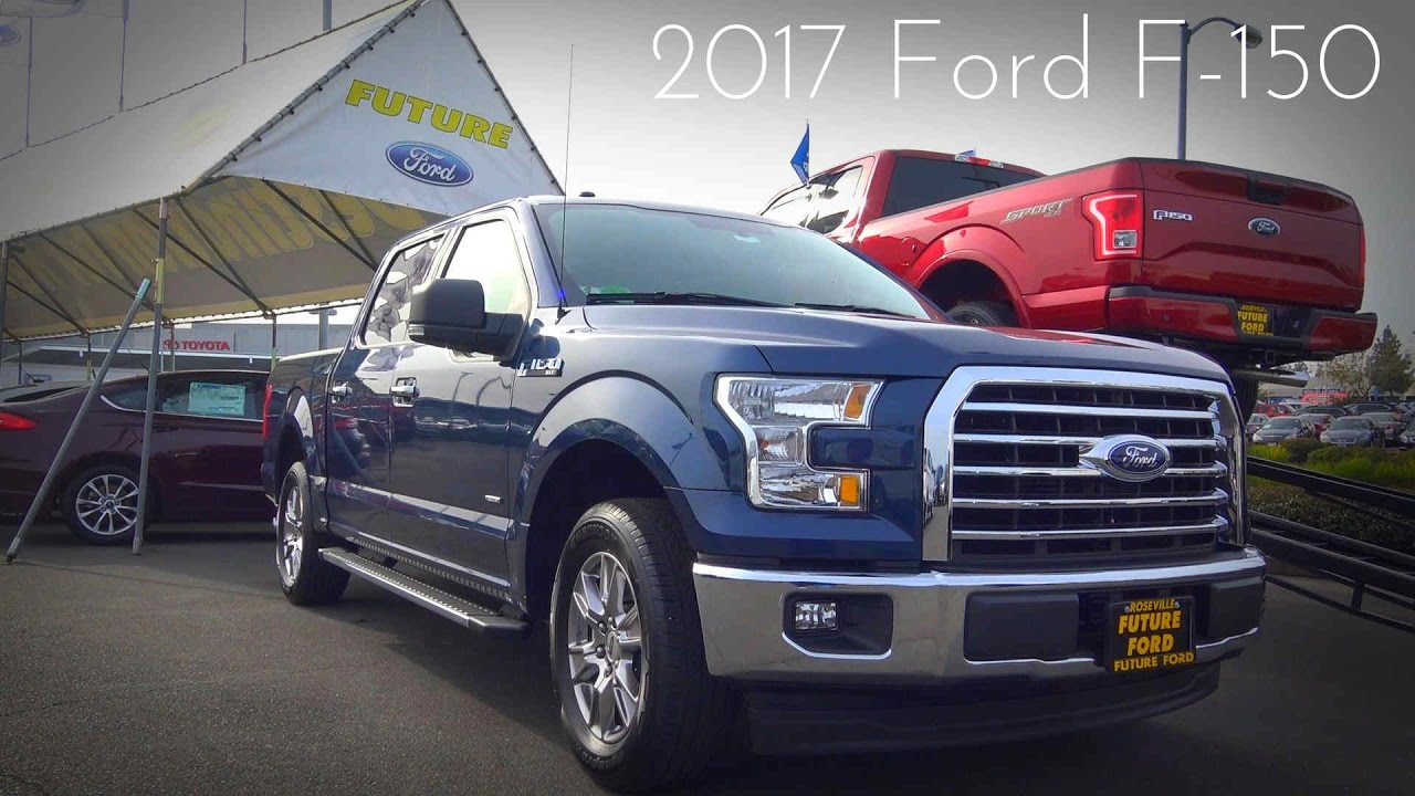 2017 ford f 150 xlt supercrew 2 7 l ecoboost v6 review youtube. Black Bedroom Furniture Sets. Home Design Ideas
