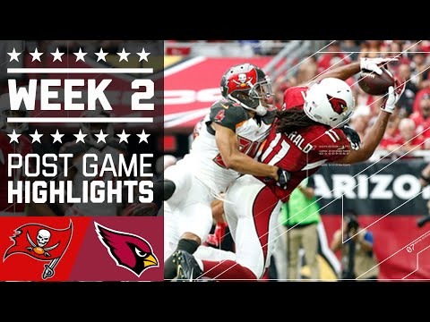 Buccaneers vs. Cardinals | NFL Week 2 Game Highlights