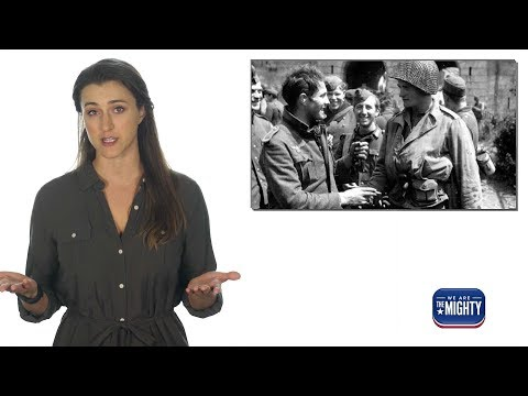 Germans & Americans fought side by side in WW2