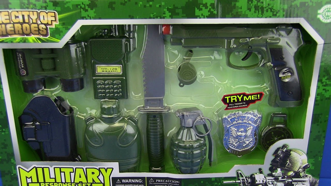 Best Toy And Model Soldiers For Kids : Toys for kids toy gun military set youtube