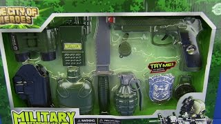 Toys for kids ! Toy Gun Military set