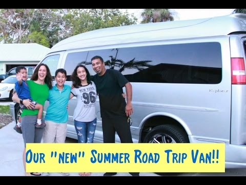 Summer Tour 2017 | New GMC Savana Van | Shukla family travels | Visit the USA