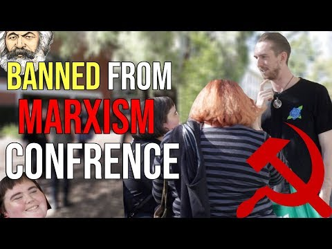 Lewis Spears VS Marxism Conference | Kicked Out And FOLLOWED HOME