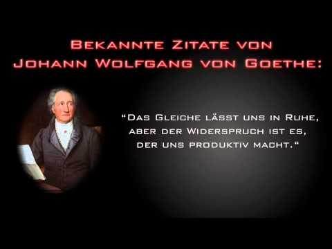 Zitat Aus Einem Goethe Brief An Schiller 05051798 Youtube