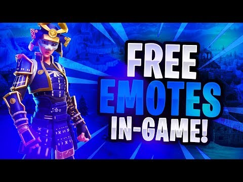 FORTNITE HOW TO GET ANY LEAKED EMOTE FOR FREE IN-GAME!