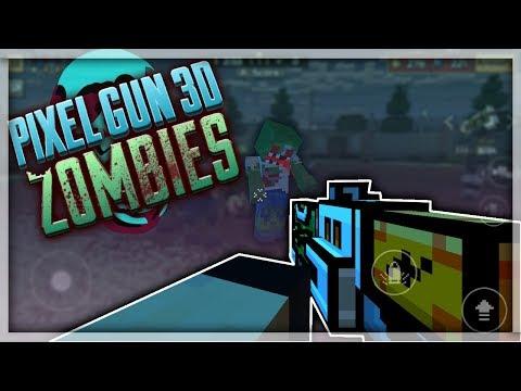 THE ZOMBIE APOCALYPSE!!!(Pixel Gun 3D Funny Moments Zombies)