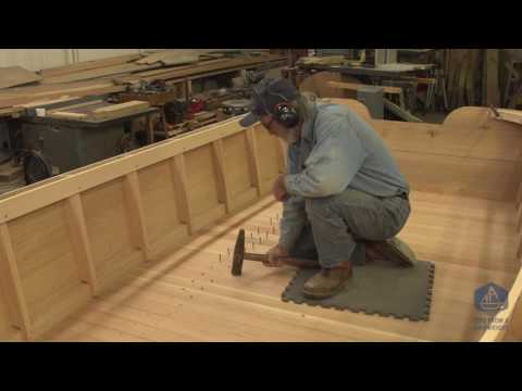 Building the TotalBoat work skiff - The Guards (Episode 29)