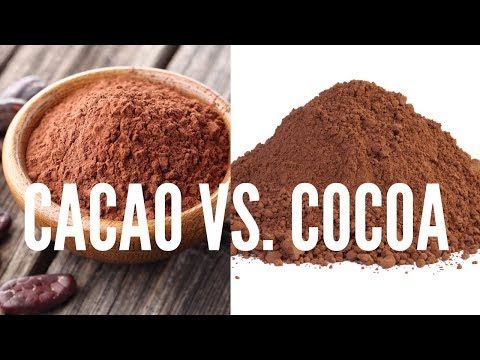 Difference Between Cacao & Cocoa?