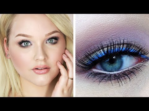 Angelic Pop of Periwinkle Makeup Tutorial