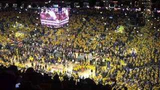 [2017.06.12] Reliving the final minutes of the 2017 NBA final game 5 - Warriors is champions again!!