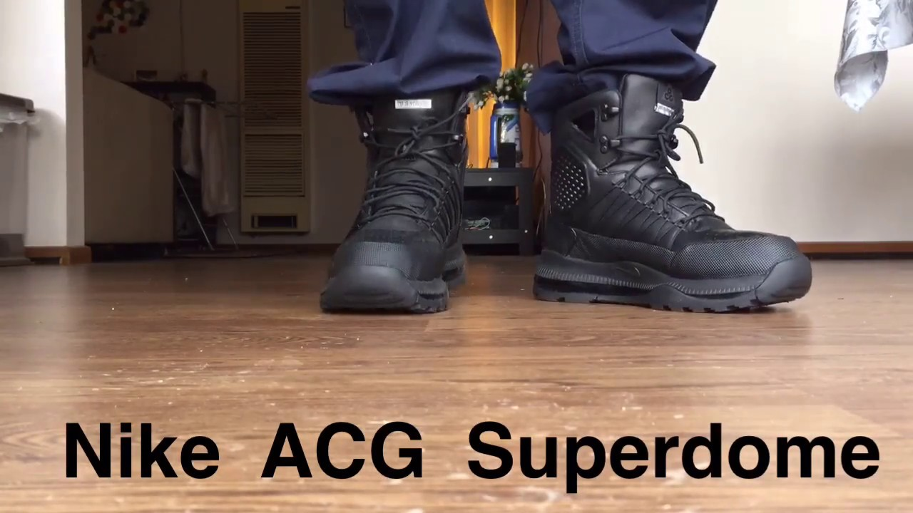 7398d1e885f Nike ACG Zoom Superdome - Best Police Boots - YouTube