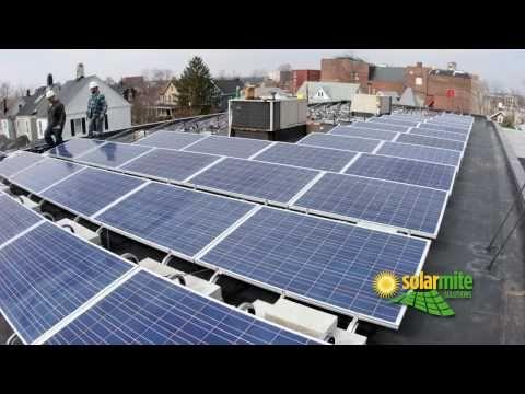Solar Mite Solutions - Solar Panel Installation - First Baptist Church, Red Bank, NJ