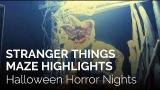 Stranger Things at Halloween Horror Nights 2018 Hollywood