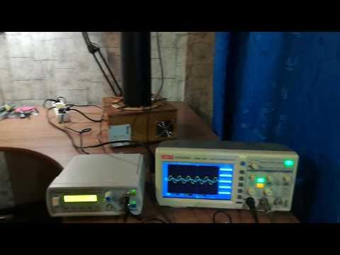 Настройка Катушки Тесла - Измерение частоты вторичного контура