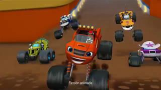 Vehículos Blaze, Slam & Go y Turbolanzador - Blaze y los Monster Machines