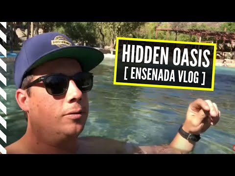 Epic Hidden Oasis | Ensenada Mexico VLOG | Aguas Termales, Street Food, ATVs And More! 🇲🇽