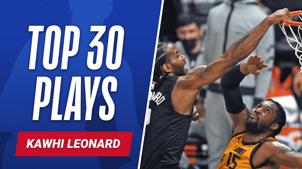 Kawhi Leonard's 30 BEST PLAYS | #NBABirthdays 🎂
