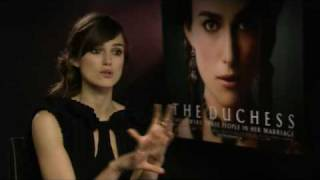 Keira Knightley - The Duchess - Exclusive Interview