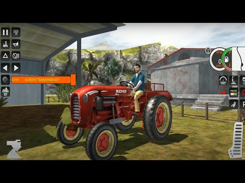 Tractor Trolley Farming Simulation Offroad Truck #1 (by Redstone Creatives) – Android Game Gameplay