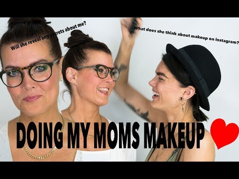 Doing My Moms makeup | Will she reveal any secrets about me? | Linda Hallberg Tutorials thumbnail