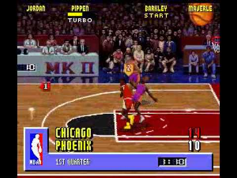 Nba Jam Old School Edition Part 1 Chicago Bulls Vs