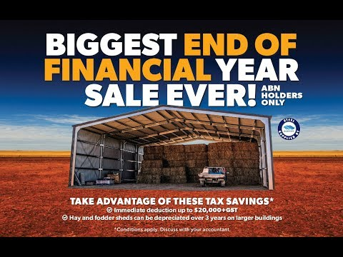 Now Buildings - biggest end of financial year sale EVER!!!