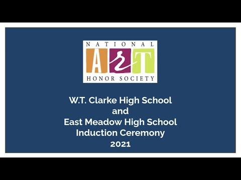 W.T. Clarke High School & East Meadow High School 2021 NAHS Induction Ceremony
