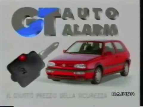 GT Auto Alarm Getronic 1994 YouTube
