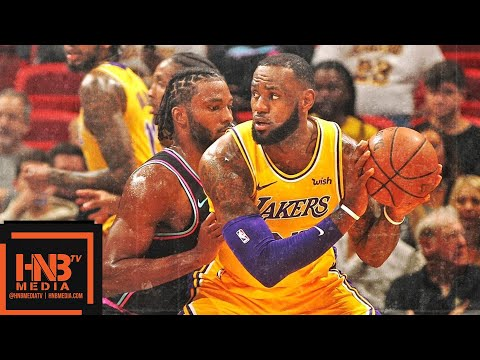 Los Angeles Lakers vs Miami Heat Full Game Highlights | 11.18.2018, NBA Season