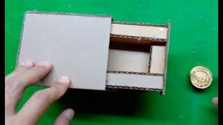 Cách làm hộp ảo thuật bằng thùng giấy