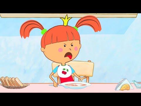 Смотреть мультфильм про царевну которая не хотела кушать