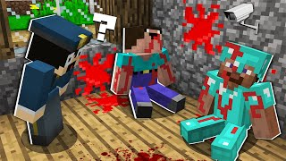 WHAT HAPPENED in this ROOM 5 MINUTES AGO? DETECTIVE in Minecraft : NOOB vs PRO