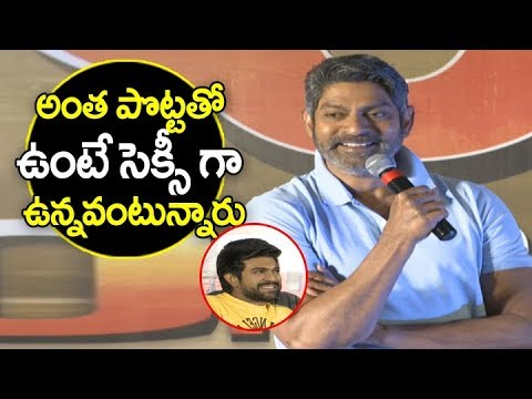 Jagapati Babu tremendous speech at Rangasthalam Thanks Meet | Ram Charan | Sukumar | Anasuya