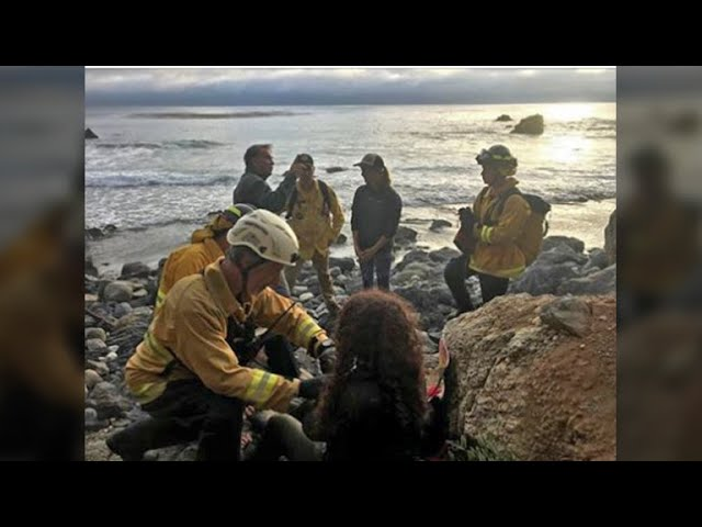 Missing Oregon woman whose Jeep plunged down Big Sur cliff