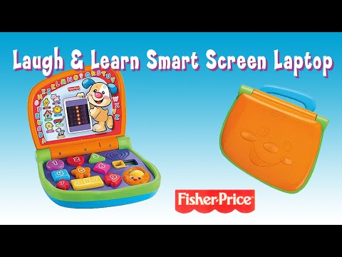 Laugh & Learn Smart Screen Laptop For Toddlers By Fisher-Price