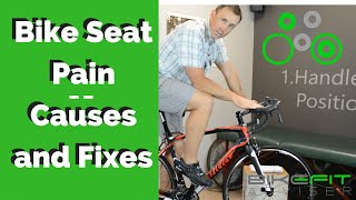 Bike Seat Pain | Bike Fit Causes and Fixes
