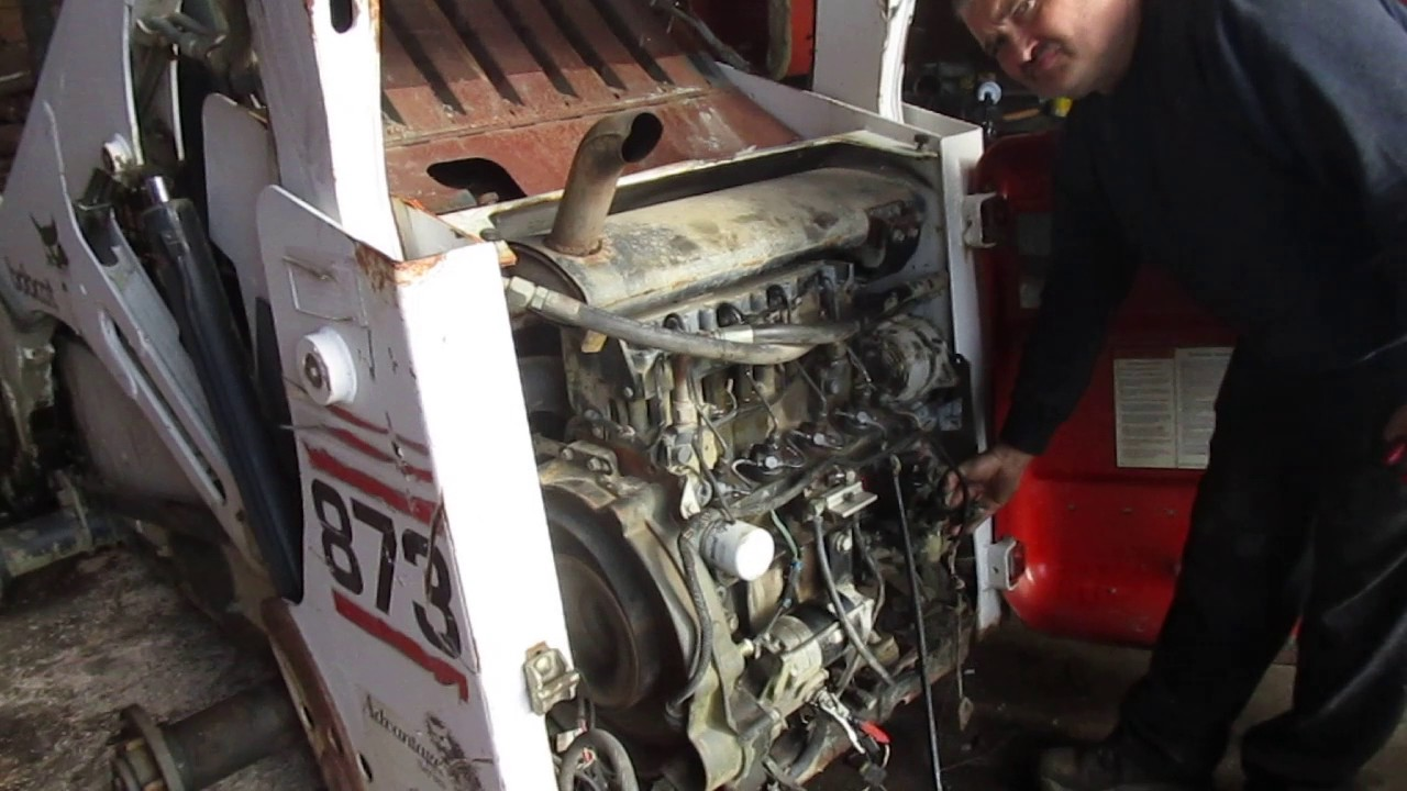 Bobcat 873 Engine Youtube