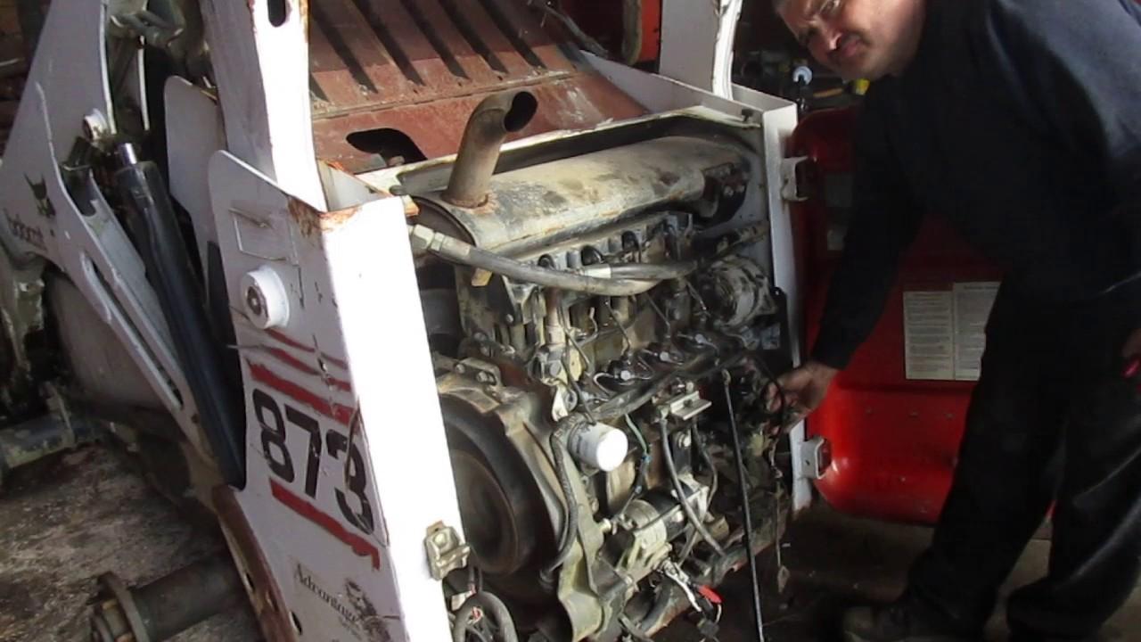 BOBCAT 873 ENGINE  YouTube